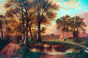 John Joseph Hughes - Monks Abbey, Lincolnshire