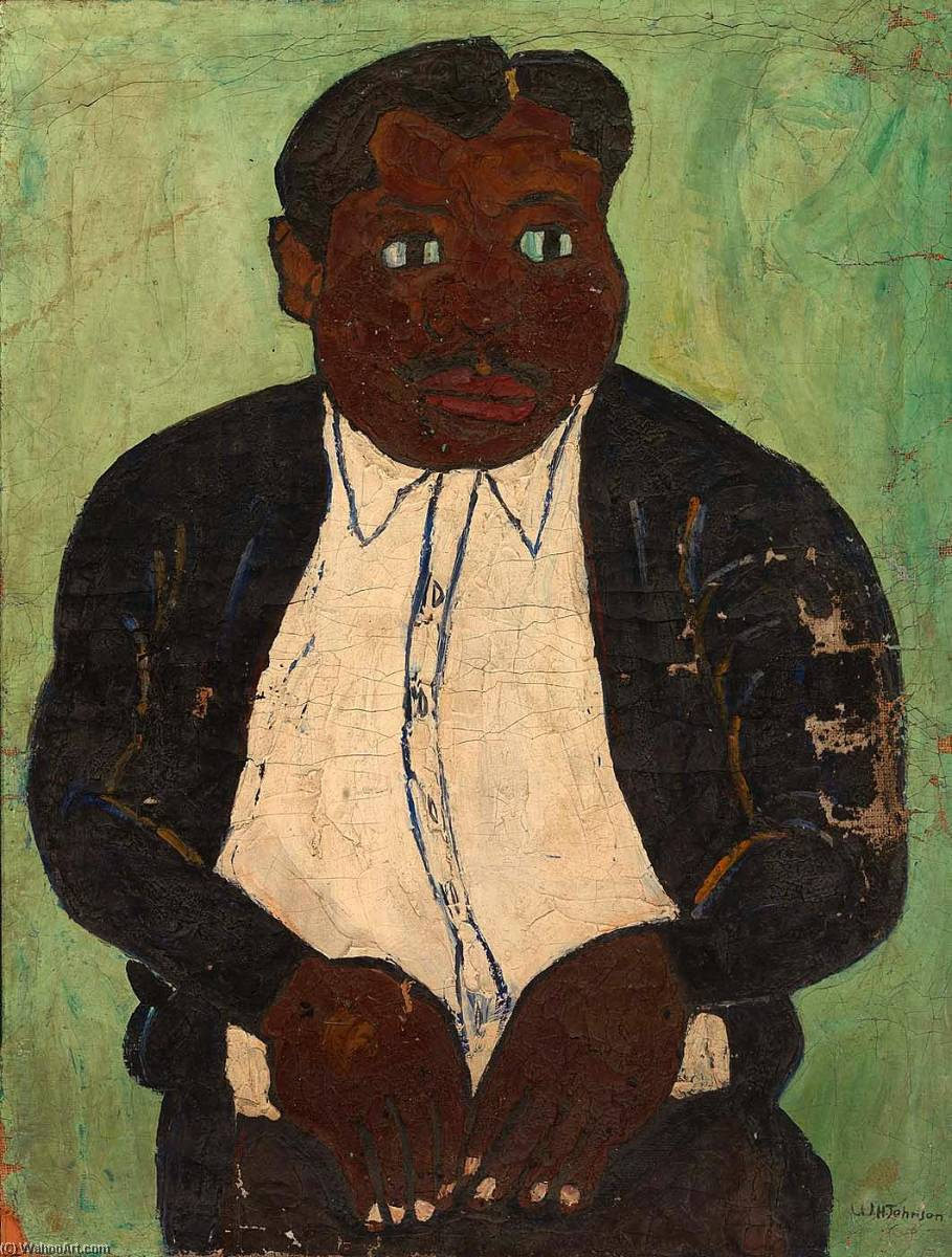 Lame Man, 1940 by William Henry Johnson (1901-1970, United States) | Museum Quality Reproductions | ArtsDot.com