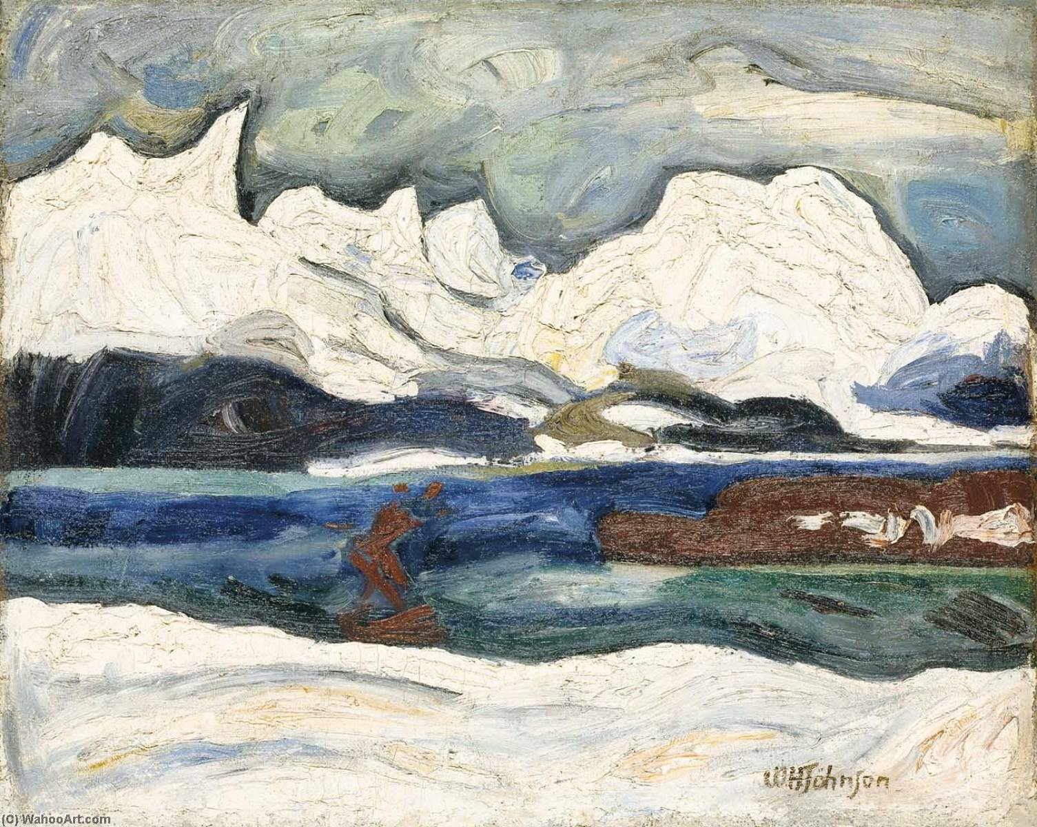 Volda, 1936 by William Henry Johnson (1901-1970, United States) | Museum Quality Reproductions | ArtsDot.com
