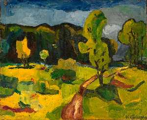 William Henry Johnson - Mountain Country