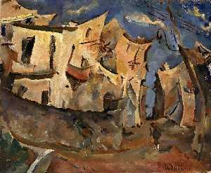 William Henry Johnson - Houses Cagnes