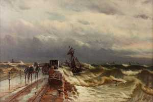 Duncan Fraser Mclea - The Wreck of the Barque '..