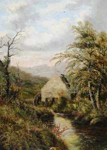 Benjamin Hold - View of Saw Mill at Cawthorne, South Yorkshire