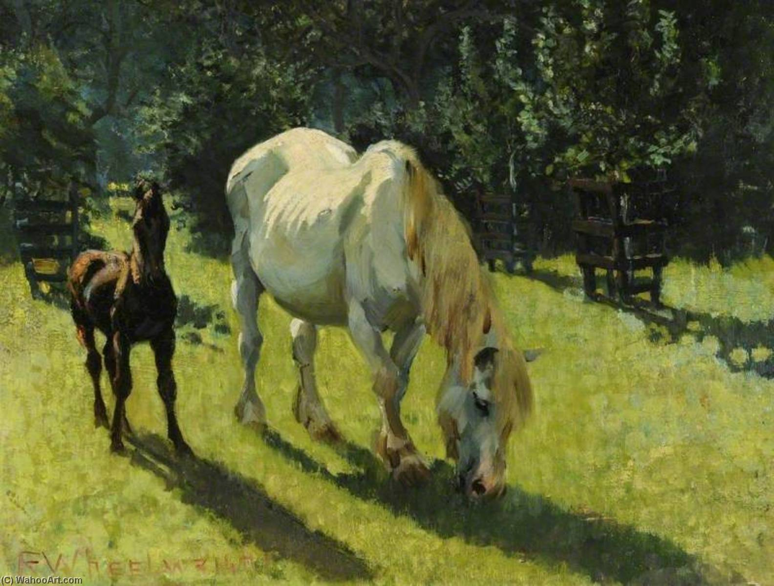 A Summer Afternoon by Rowland Wheelwright | Museum Quality Reproductions | ArtsDot.com