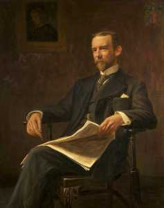 Frank Stanley Ogilvie - William Grey (1850–1910), 9th Earl of Stamford