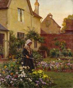 William Teulon Blandford .. - The Farm Garden
