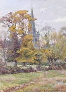 William Teulon Blandford .. - St Helen's Church, Abingd..