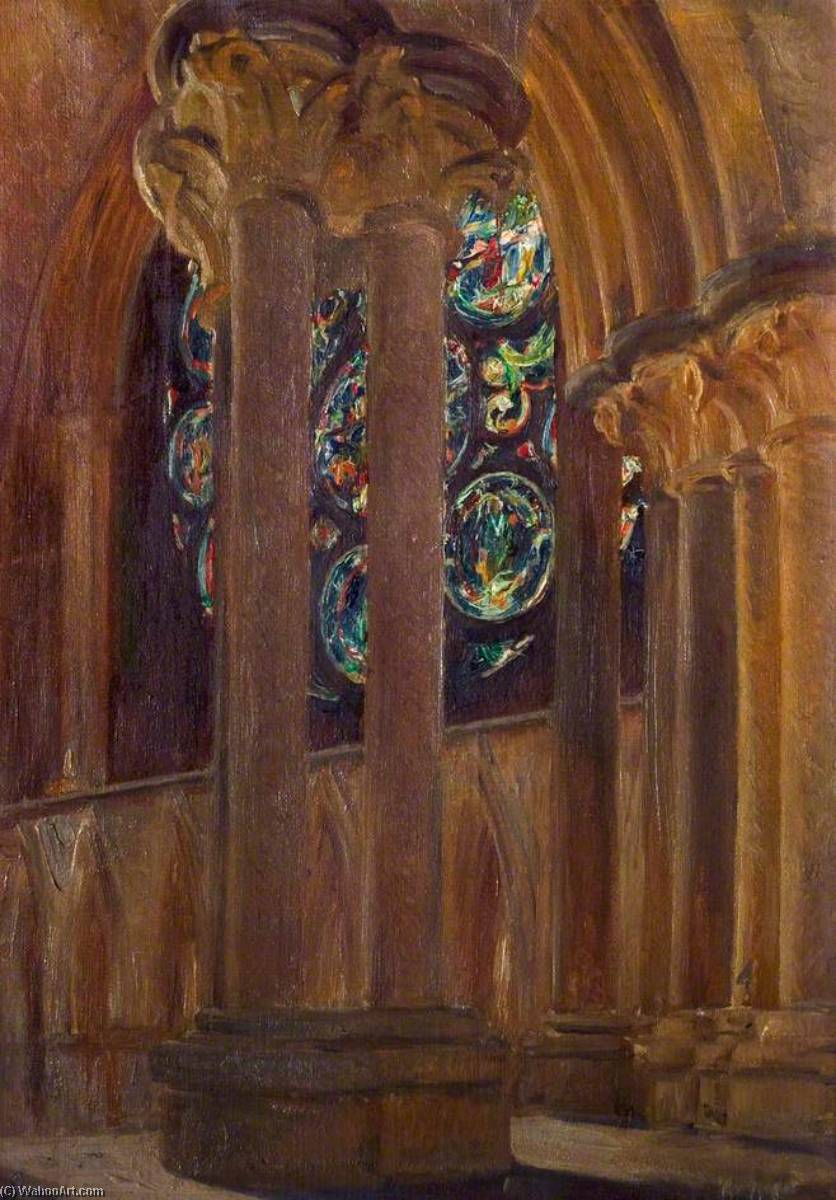 Dean`s Eye, Lincoln Cathedral from the Clerestory by Alfred George Webster | Museum Quality Reproductions | ArtsDot.com