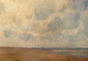 Alfred George Webster - Mablethorpe Shore, Lincolnshire