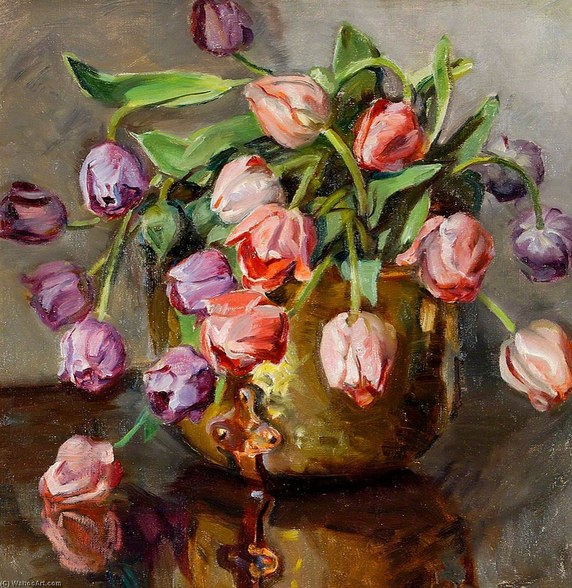Tulips, 1930 by Rose Mead | Museum Art Reproductions | ArtsDot.com