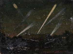 Ernest Stamp - Searchlights from Parliam..