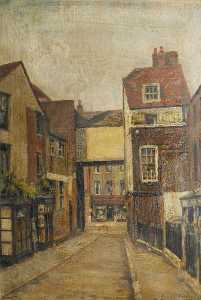 Ernest Stamp - Perrin's Court, Hampstead..