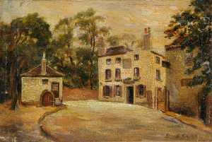 Ernest Stamp - The 'Spaniards Inn', Octo..