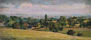 Ernest Stamp - Near Kenwood, Looking ove..