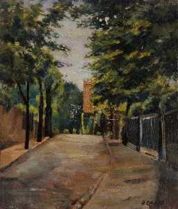 Ernest Stamp - The Grove, Hampstead, Jun..