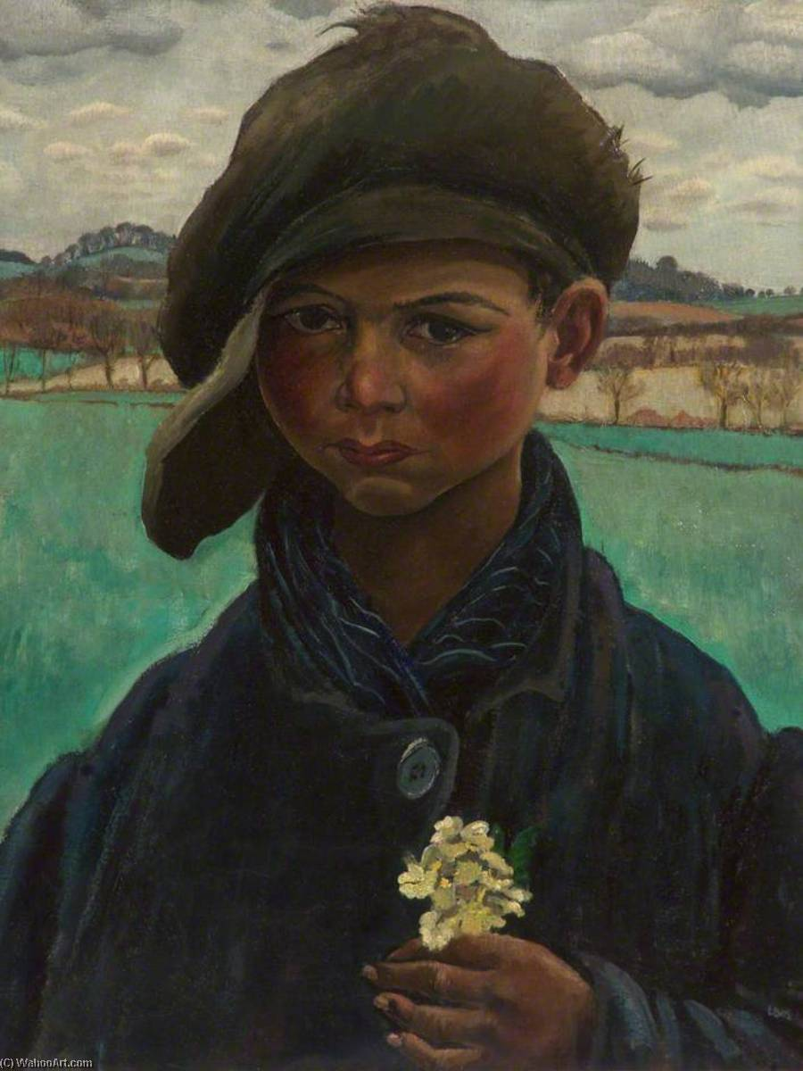 Gipsy Boy by Neville Lewis | Art Reproduction | ArtsDot.com