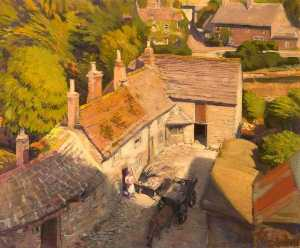 Percival Arthur Wise - The Castle Mill, Corfe, Dorset