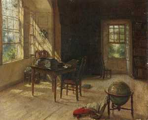 George Paul Chalmers - The Library at Haddo House