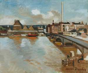 Adrian Maurice Daintrey - Battersea Bridge