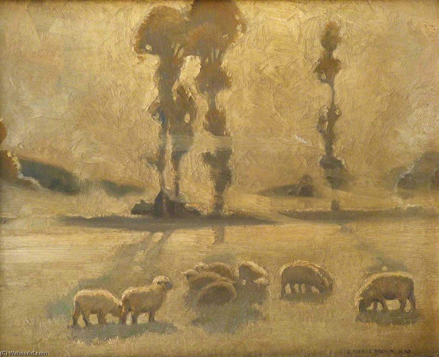 Buy Museum Art Reproductions | Fog, Frost and Sunlight, 1937 by Sam Morse Brown | ArtsDot.com