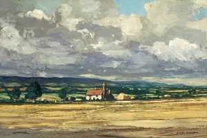 Claude Muncaster - Sussex Landscape