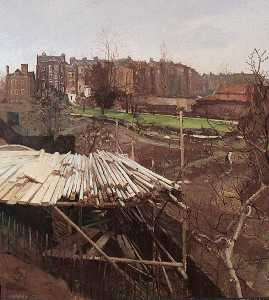 Donald Chisholm Towner - Church Row Gardens, Hampstead, London