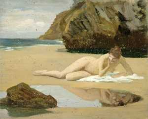 Gunning King - Nude on a Beach