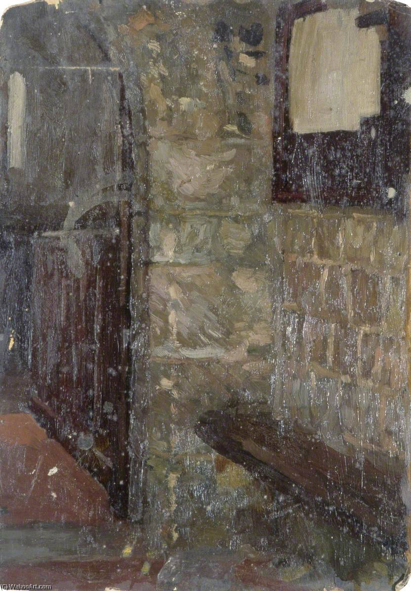 Porch of a Church by Gunning King | Museum Art Reproductions | ArtsDot.com