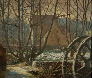 Charles Ernest Cundall - Temeside, Ludlow