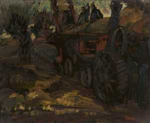 James Arundel - Threshing