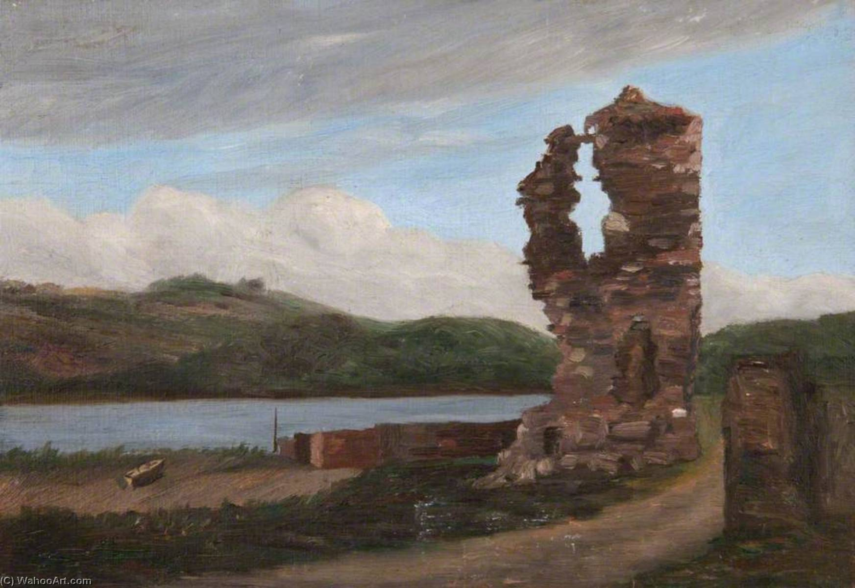 Order Painting Copy : Landscape with Ruins by Robert Lillie | ArtsDot.com