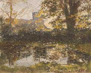 Lucy Marguerite Frobisher - Autumn View of St James' ..