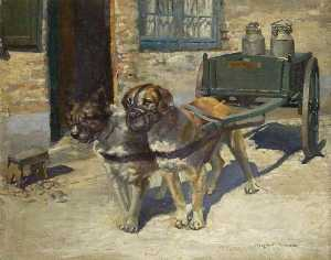 Lucy Marguerite Frobisher - Belgian Dog Cart