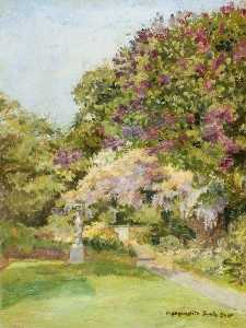 Lucy Marguerite Frobisher - The Garden at Kingsley, B..