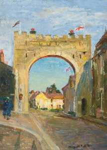 Lucy Marguerite Frobisher - Coronation Arch from Falc..
