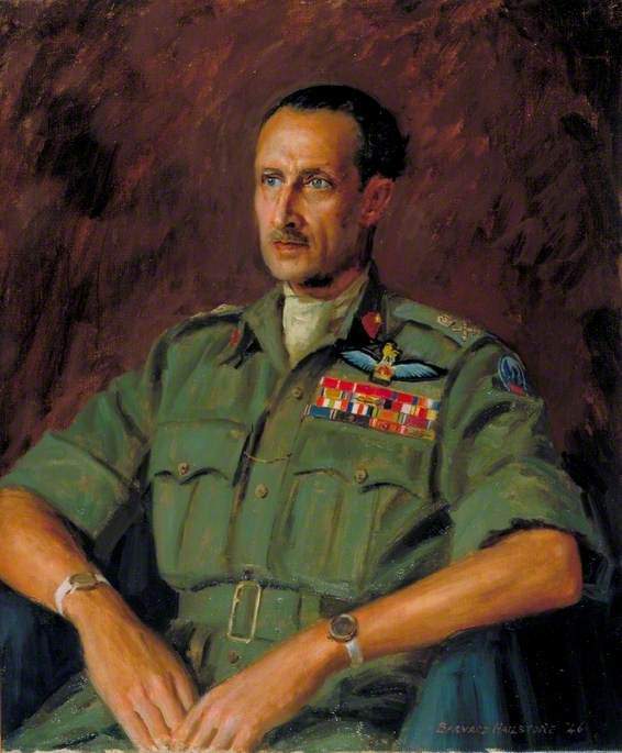 Lieutenant General Sir Frederick Browning (1896–1965), KBE, CB, SO, 1946 by Bernard Hailstone | Museum Quality Reproductions | ArtsDot.com