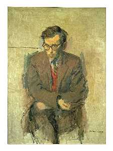Raphael Soyer - Levine, Jack, Portrait Of
