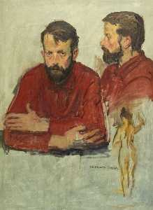 Raphael Soyer - Dobbs, John, Portrait Of