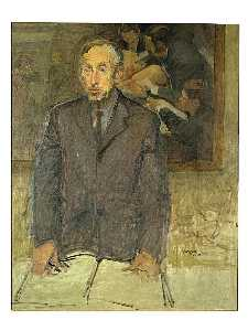 Raphael Soyer - Goodrich, Lloyd, Portrait..
