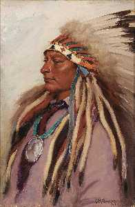 Joseph Henry Sharp - Chief Spotted Elk