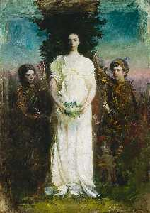 Abbott Handerson Thayer - My Children (Mary, Gerald..