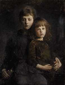 Abbott Handerson Thayer - Brother and Sister (Mary ..