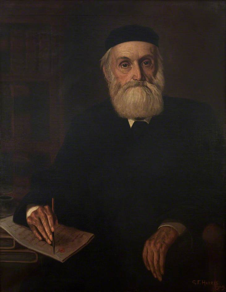 John Thomas, Clerk to the Council, 1909 by George Frederick Harris (1913-1991, United States) |  | ArtsDot.com