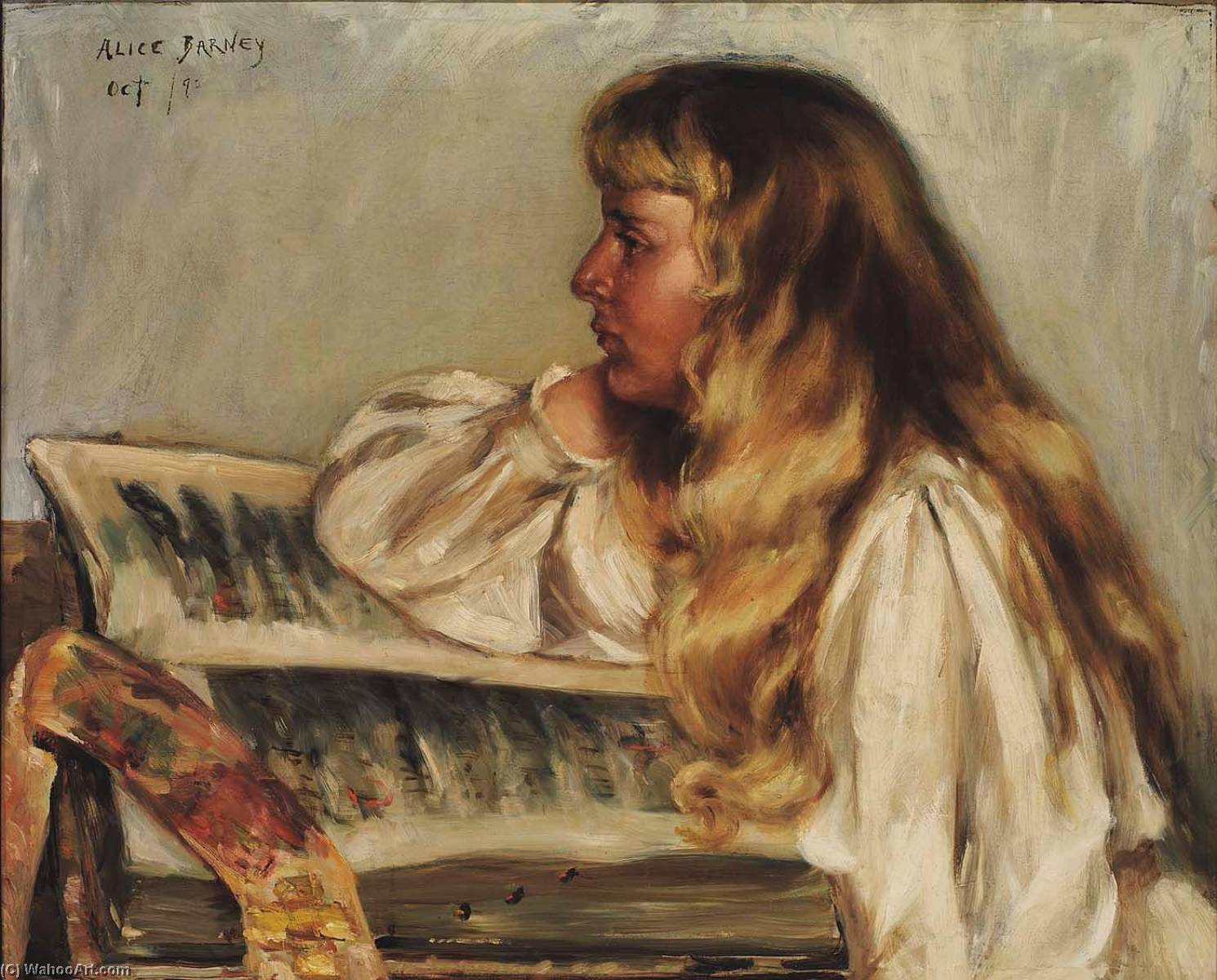 Order Museum Quality Copies | Natalie and Missal, 1890 by Alice Pike Barney (1857-1931, United States) | ArtsDot.com