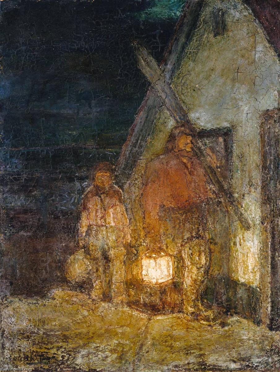 Buy Museum Art Reproductions : The Fisherman`s Return by Henry Ossawa Tanner (1859-1937, United States) | ArtsDot.com