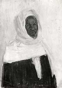 Henry Ossawa Tanner - Study of an Arab, (painting)