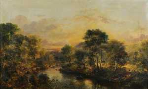 William Muir - Bend on the Water of Girv..