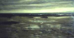 Archibald David Reid - A Lone Shore