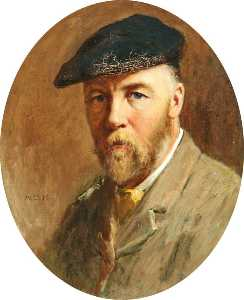 Archibald David Reid - Self Portrait