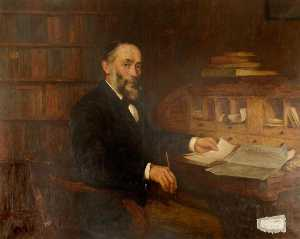 Charles Martin Hardie - Andrew Stewart (1842–1900), Editor of -The People-s Friend- in Dundee